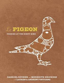 Le Pigeon Cookbook (signed)